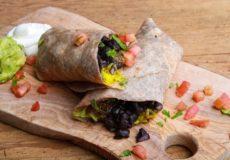 Salade of burrito's met andijvie!