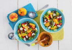 Nectarines: 2 keer een heerlijk gerecht