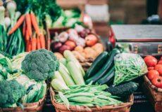 Georganiseerde chaos van groente