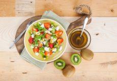Zomerse kiwi salades