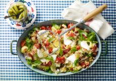 Mediterrane stamppot of zomers gerecht, je maakt het met basilicum!