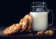 Een klontje melk?