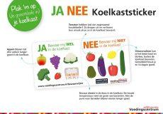 Bewaartips met de Ja-Nee Koelkaststicker